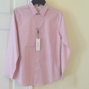 NWT Calvin Klein Boys Dress Shirt